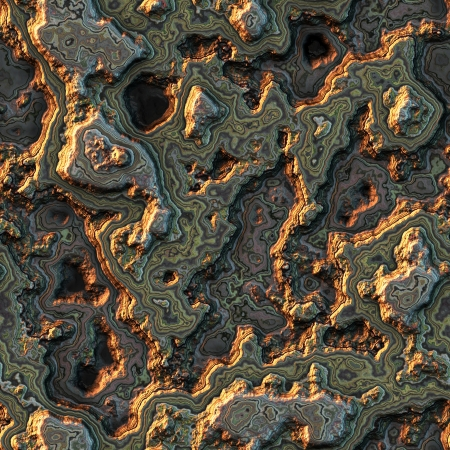 Seamless computer generated background of layered stone in high quality photo
