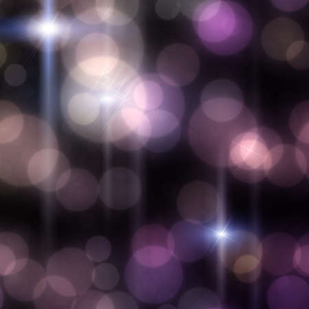 Elegant abstract background with bokeh defocused lights and stars Stock Photo - 18946613
