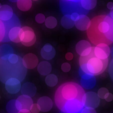 Seamless abstract background with bokeh defocused lights Stock Photo - 18946592