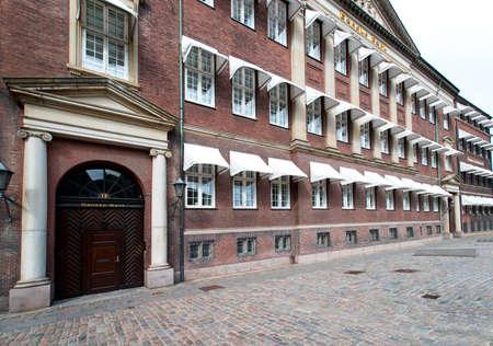 Traditional buildings at Copenhagen Denmark