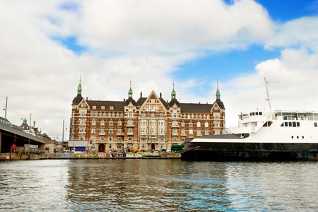 Typical building at Copenhagen Denmark