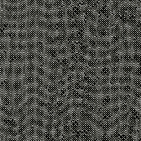 Seamless computer generated metal chain mail texture photo