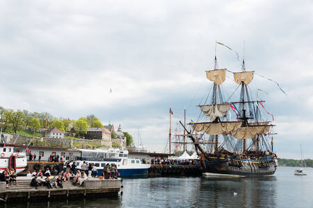 OSLO - MAY 17: Norwegian Constitution Day is the National Day of Norway and is an official national holiday observed on May 17 each year. Pictured on May 17, 2013