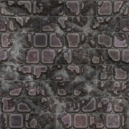 Brick wall. Seamless pattern. High resolution photo