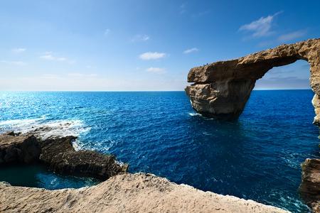 Azure Window on Gozo Island, Malta photo