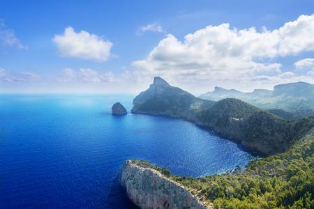 Cape Formentor in Mallorca, Balearic island, Spain Stok Fotoğraf