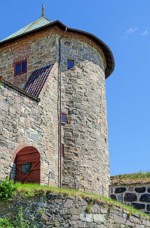 Detail of Akershus Fortress, Oslo, Norway
