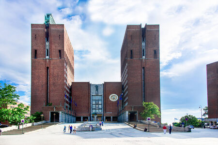 City Hall (Radhuset), Oslo, Norway