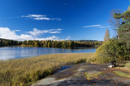 Lakes at Dikemark, Asker, Norway photo
