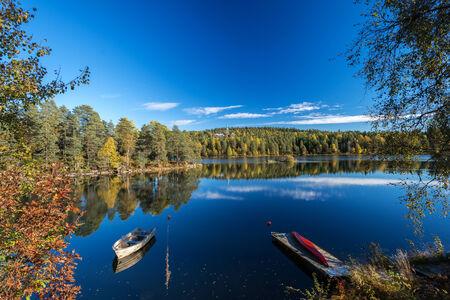 Lakes at Dikemark, Asker, Norway Stok Fotoğraf - 33255631