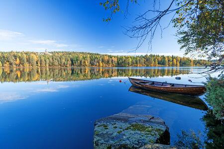 Lakes at Dikemark, Asker, Norway Stok Fotoğraf - 33255639