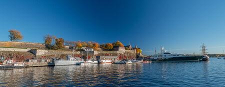 Akershus Fortress at Autumn, Oslo, Norway