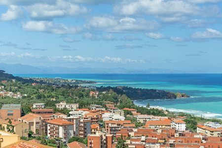 pictoresque: View on Cefalu city, Sicily