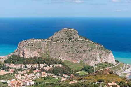 sicily: Cefalu city, Sicily, Italy Stock Photo