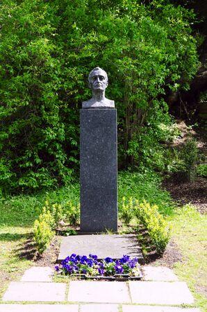 munch: Grave of Edvard Munch in Oslo, Norway
