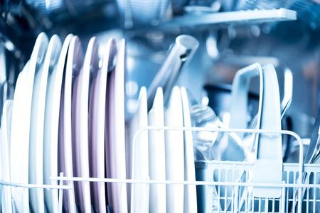 Kitchenware in dishwasher