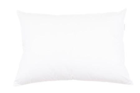 pillow case: Pillow isolated on white background Stock Photo