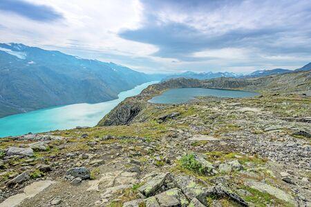 besseggen: Besseggen Ridge in Jotunheimen National Park, Norway