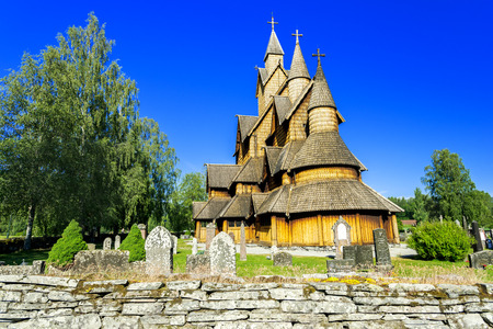 stave: Stave Church Heddal, Norway