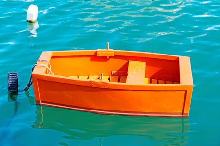 dingy: Tiny Red dingy at Malta