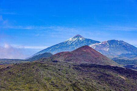 Scenic view on Teide volcano on Tenerife Island, Spain