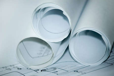 draft: Design draft papers and draft paper rolls