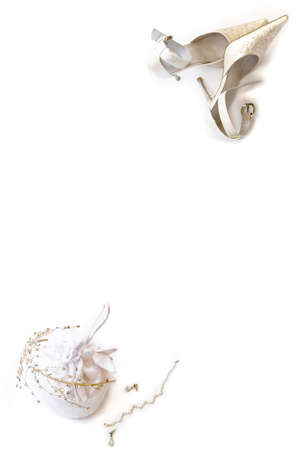 bride bangle:  Her Wedding Day Accessories Stock Photo