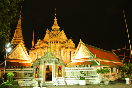 going places: Temple (Wat) Stock Photo