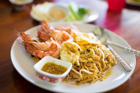 Pad Thai , A Famous Noodle in Thailand.