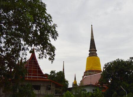 ayuthaya: Temple big bhuda ayuthaya...
