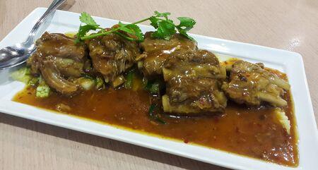 belly pepper: spicy steamed pork