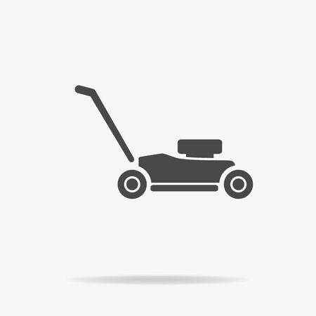push mower: Lawn mower icon. Vector concept illustration for design.