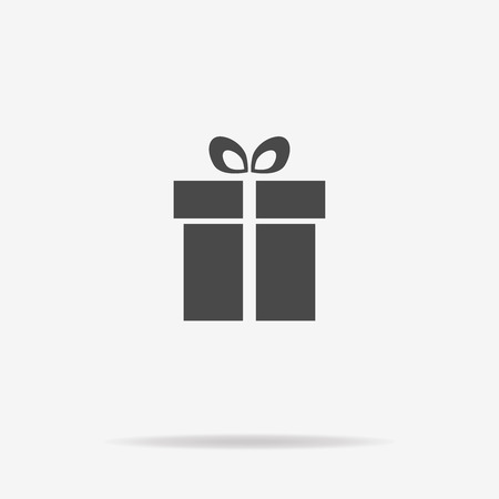 gift icon: Gift icon. Vector concept illustration for design. Illustration