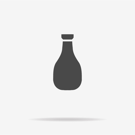 soy: Soy sauce icon. Vector concept illustration for design. Illustration