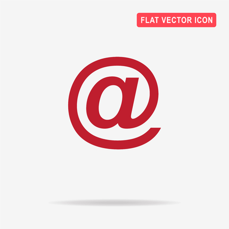 Email icon. Vector concept illustration for design. Illustration