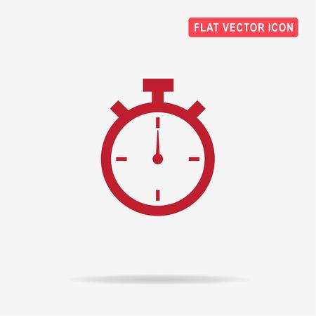 Timer icon. Vector concept illustration for design.