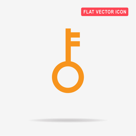 Key icon. Vector concept illustration for design. Illustration