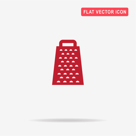 grater: Grater icon. Vector concept illustration for design.
