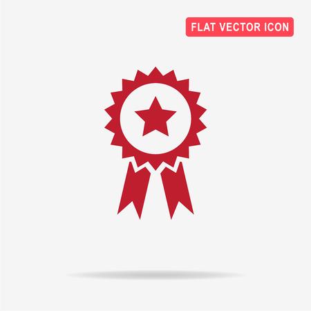 gratitude: Award icon. Vector concept illustration for design. Illustration