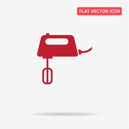 Mixer icon. Vector concept illustration for design.