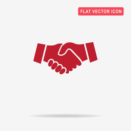 Handshake icon. Vector concept illustration for design. Illustration