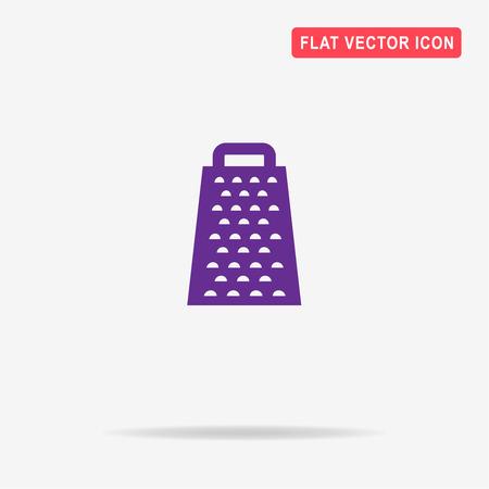 grater: Grater icon. Vector concept illustration for design.