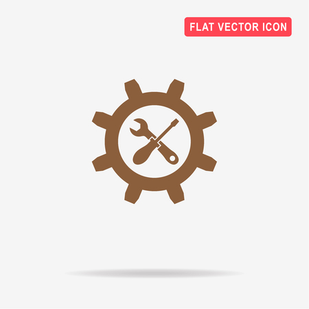 Repair icon. Vector concept illustration for design. Illustration