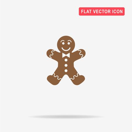 gingerbread man: Gingerbread man icon.
