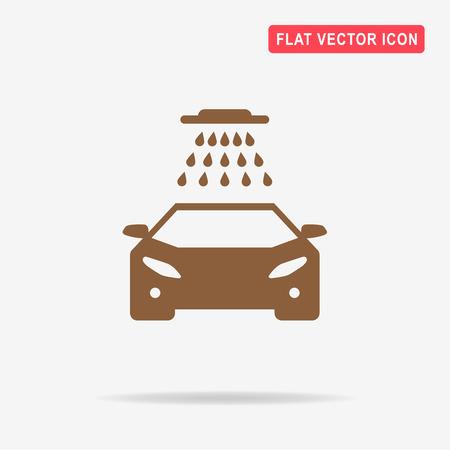 briliance: Car wash icon. Vector concept illustration for design.
