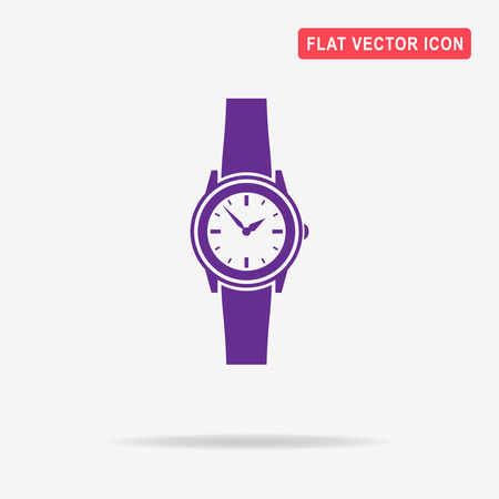 Watch icon. Vector concept illustration for design. Illustration