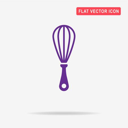Whisk icon. Vector concept illustration for design.