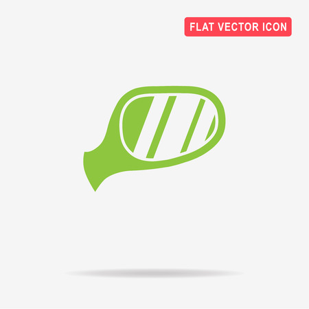 Auto mirror icon. Vector concept illustration for design. Illustration