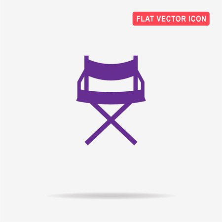 Chair icon. Vector concept illustration for design. Illustration