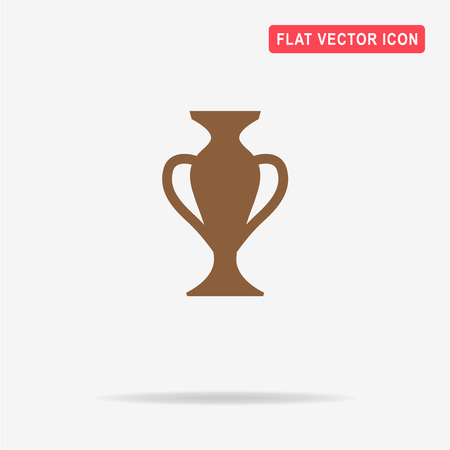 Vase icon. Vector concept illustration for design.